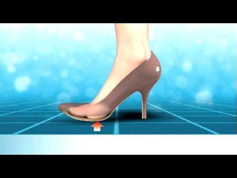 Problems wearing high heels - Scholl Biomechanics