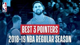 NBA's Best Three Pointers | 2018-19 NBA Regular Season