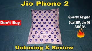 Jio Phone 2 Unboxing, First Look, Hands On & Review in Hindi🔥😮🔥
