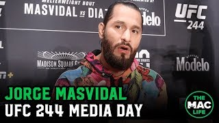 "Jorge Masvidal on ""****sucker"" Colby Covington: ""The universe is gonna correct that mistake via me"""