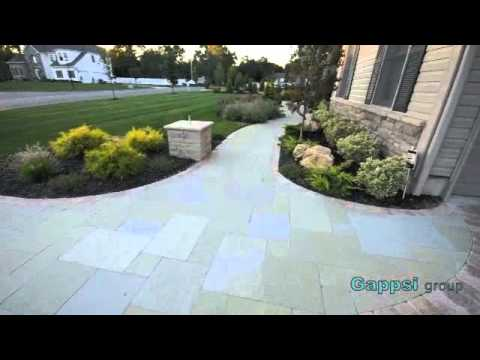 Granite pavers driveways  long island | limestone walkways | front yard and back construction