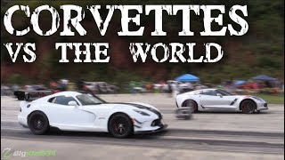 Corvettes vs the World! (Half Mile Racing)