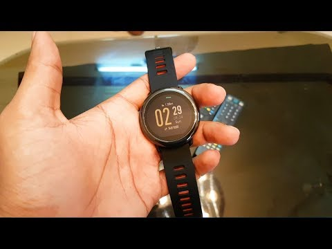 Xiaomi Amazfit Pace Smartwatch Review!