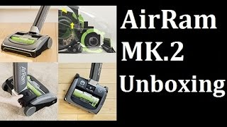 NEW Gtech AirRAM MK.2 Unboxing and quick test.