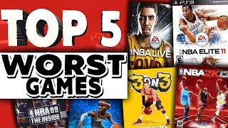The 5 WORST Basketball games EVER!!!