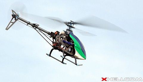 2.4GHz Exceed RC Genesis 450-PE 3D RC Helicopter (Inverted Flying)
