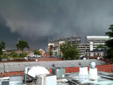 Tuscaloosa Tornado Bryant Denny Youtube