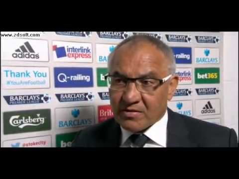 Stoke 4 1 Fulham: Felix Magath sorry for relegation
