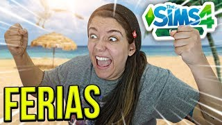 VOU TIRAR FÉRIAS! - The Sims 4 Estações