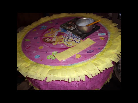 How to Make a Pinata with a Mylar Balloon