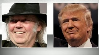 Neil Young says Trump used hit song without permission