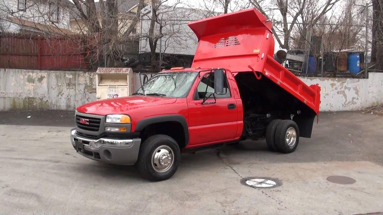 Chevy Truck Commercial 2007 GMC Sierra C3500 Dump Truck - YouTube