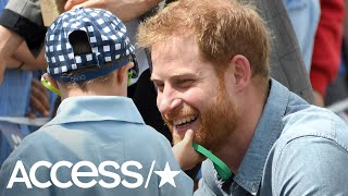The Secret Story Behind The Young Boy Who Grabbed Prince Harry's Beard