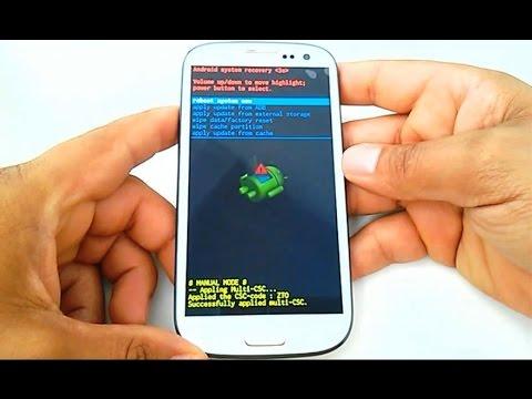 Hard reset samsung galaxy s3 gt i9300 i9305 como formatar desbloquear restaurar видео смотреть онлайн