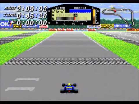 F1 ROC: Race of Champions Game Sample - SNES/SFC