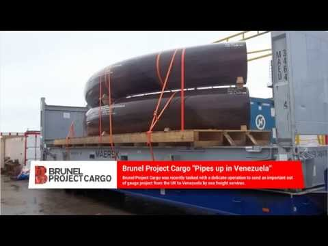 Brunel Project Cargo Out of Gauge to Venezuela