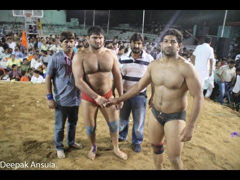 Wrestler Naveen Mor vs Krishan Kumar
