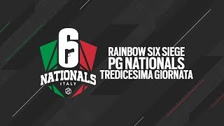 Rainbow Six Siege PG NATIONALS 2019 - Tredicesima Giornata