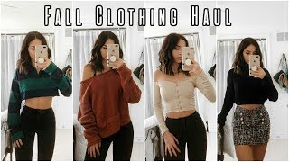 ANOTHER FALL CLOTHING HAUL | Try On | Fashion Nova + Zara