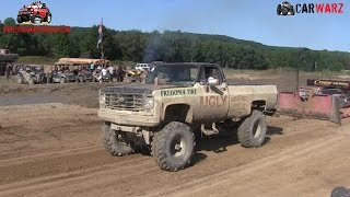 Ugly Chevy 1 Ton Truck Sled Pull At Cornfield 500 Sept 2016