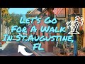 🔴Tour Beautiful St.Augustine, FL with Beth!