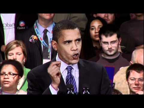 2008 Iowa Caucus Victory Speech: Promises Kept
