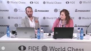FIDE World Chess Candidates Tournament 2018 / ROUND 3 /