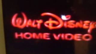 80s Classic-Walt Disney Home Video Ident
