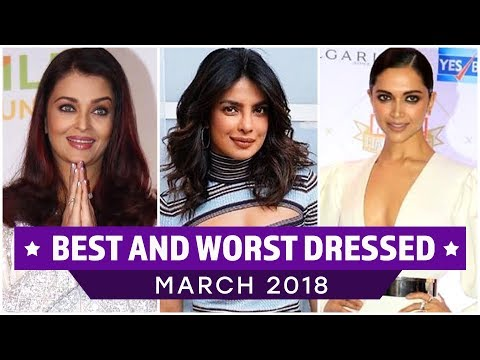 Aishwarya Rai Bachchan, Deepika Padukone, Priyanka Chopra: Best and Worst Dressed of the Month thumbnail