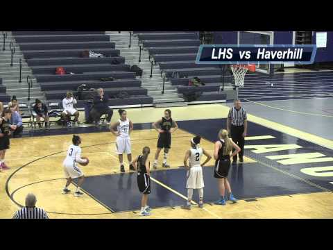 LHS Girls Basketball vs Haverhill