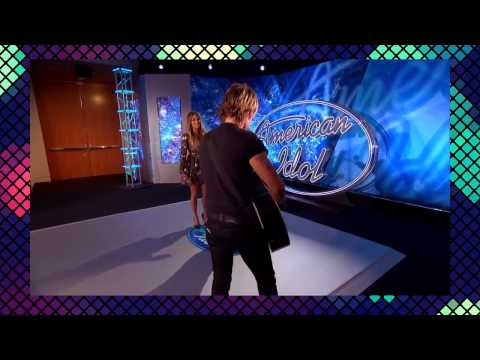 Jennifer Lopez Slow-Dances with an American Idol Contestant!