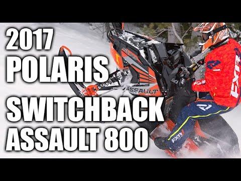 TEST RIDE: 2017 Polaris 800 Switchback Assault 144