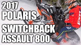 TEST RIDE: 2017 Polaris 800 Switchback Assault 144
