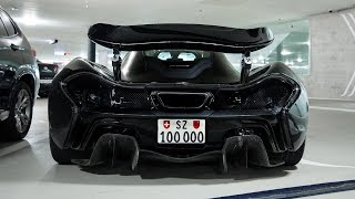 Ultimate McLaren P1 Exhaust SOUND! Roaring Twin Turbo V8 Sounds! Drag Race!