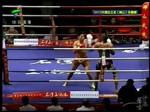 Simon Marcus recent Muay Thai fights in China 1 vs 2 fighters same night Image 1