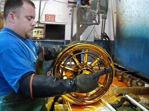 Chrome Plating Process - www.gorillachrome.com - Plating Dept