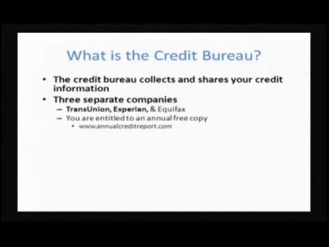 Personal Finance: Class 3 - Credit