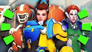 Overwatch - ALL Summer GAMES 2018 SKINS + Highlight Intros, Sprays & Voice Lines