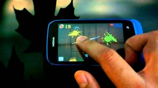 Fruit Ninja on Nokia Lumia 610