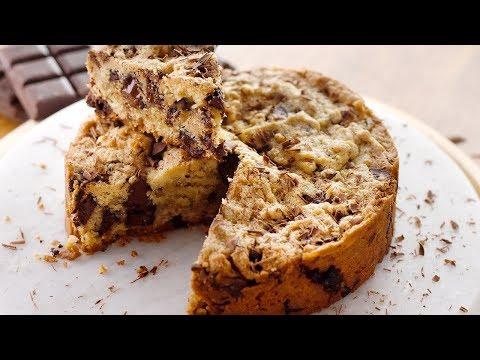 La recette gourmande du Blondie, le cookie géant