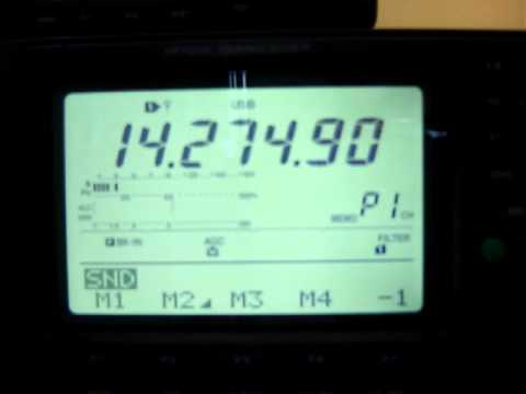 BROADCASTING ON AMATEUR RADIO FREQUENCIES