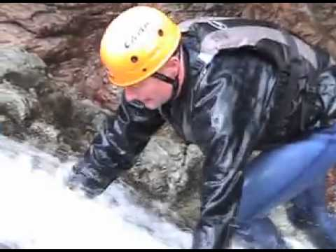 Gorge Scrambling in Church Beck Coniston