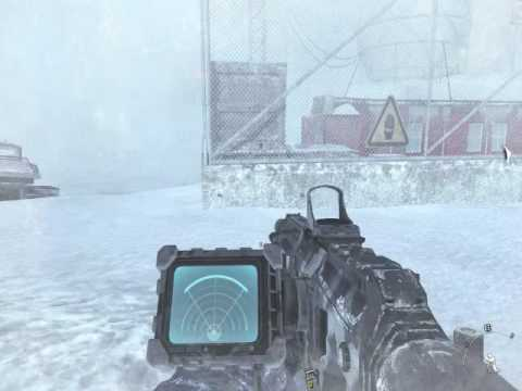 CALL OF DUTY: MODERN WARFARE 2 -CLIFFHANGER (1280X720) pc GT 220 GAMEPLAY