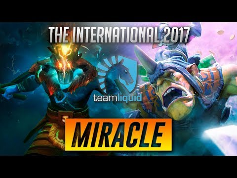 Miracle - The International 2017 Highlights - Alchemist, Troll, Juggernaut Dota 2