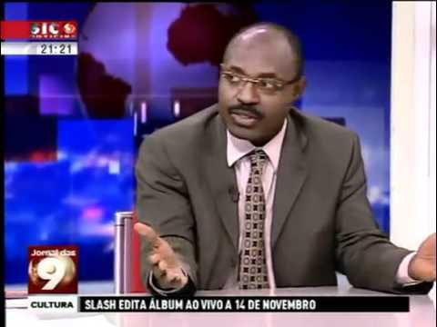 """""""Diamantes de Sangue em Angola"""",  entrvista completa de RAFAEL MARQUES SIC..."""