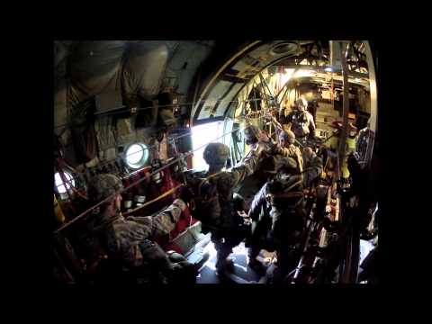 JOAX 2013 82ND AIRBORNE 1 BCT PERSONNEL AIRDROP in 1080 HIGH DEF