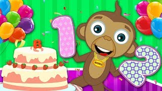 Let's Bake A Cake | Party Time | Nursery Rhymes And Kids Songs By HooplaKidz