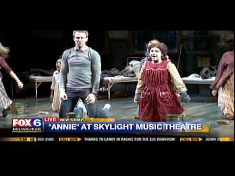 """It's the Hard Knock Life"" from ""Annie"" at Skylight Music Theatre on Fox 6 Wake Up"