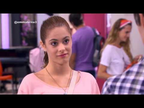 Violetta 1 - Violetta elige estar con León (01x41-42)