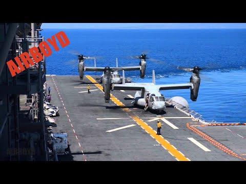 Flight Deck Operations USS Boxer (LHD-4)